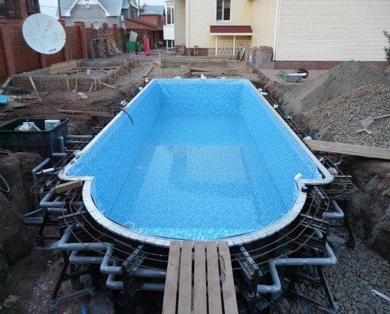 Как сделать уличный бассейн с подогревом